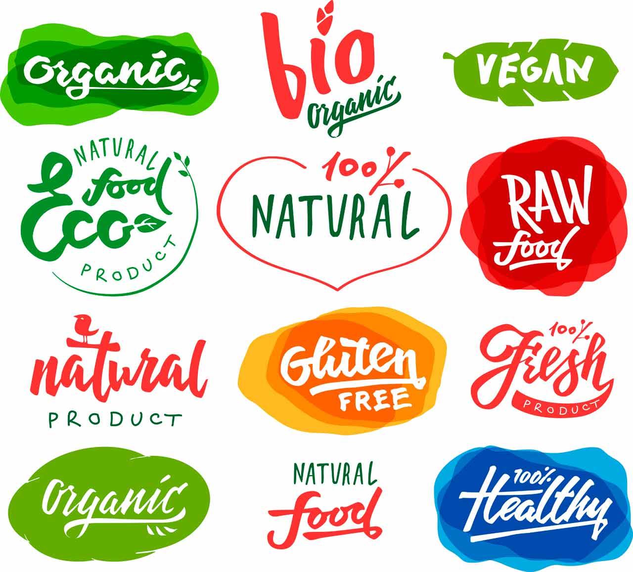 Ετικέτες Αυτοκόλλητες τροφίμων
