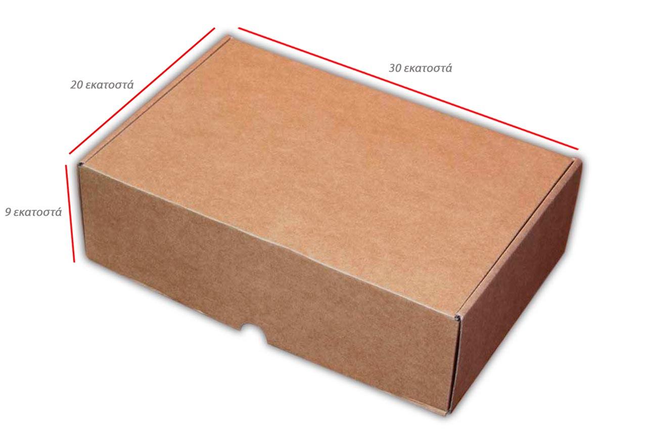 Κουτιά kraft ανοιγόμενο μεγάλο
