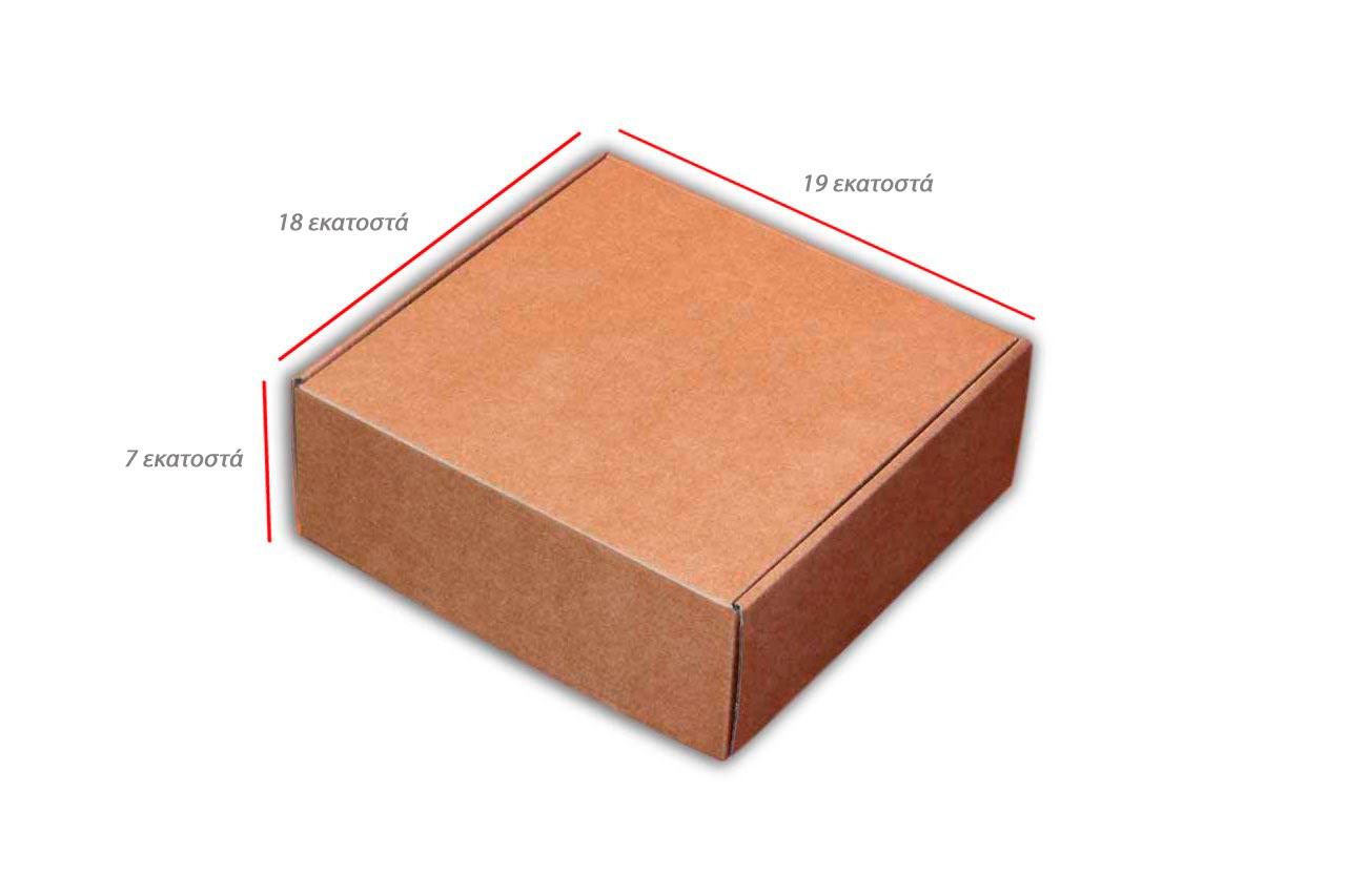 Κουτιά kraft ανοιγόμενο μεσαίο
